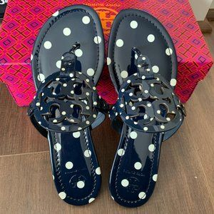 NIB TORY BURCH Miller  Patent Leather Sandals